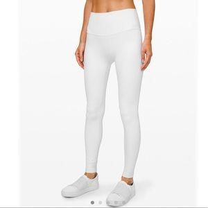 "Lululemon Align Pant 28"" in white size 2"